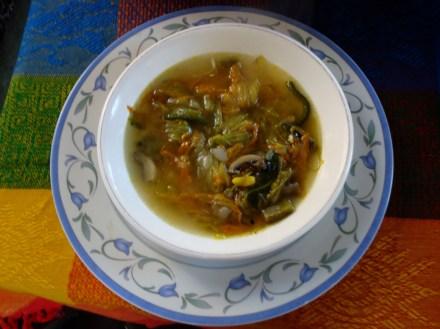 Sopa de Hongo (Mushroom Soup)